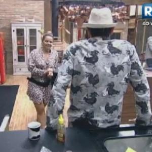 Viviane Araújo e Sylvinho Blau Blau conversam sobre Lui Mendes na cozinha (7/6/12)