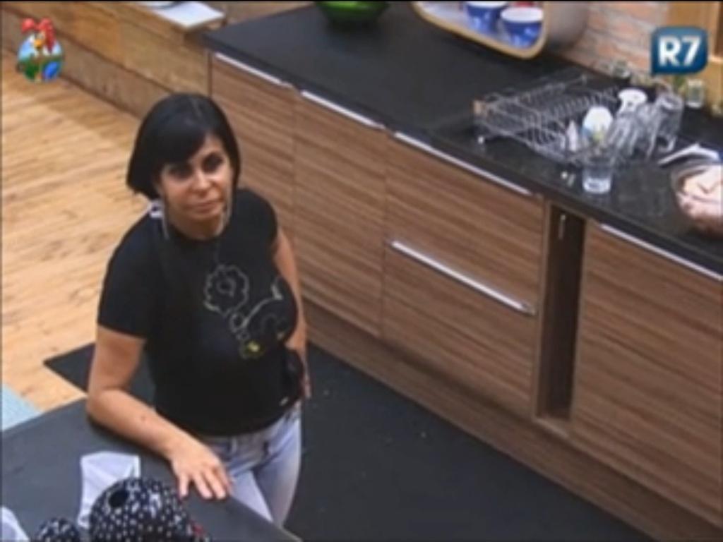 Gretchen fala sobre relacionamento com Diego Pombo e Penélope (11/6/12)