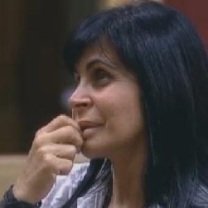 Gretchen fala para Sylvinho sobre dificuldade de fazer seus relacionamentos amorosos durararem (16/6/12)