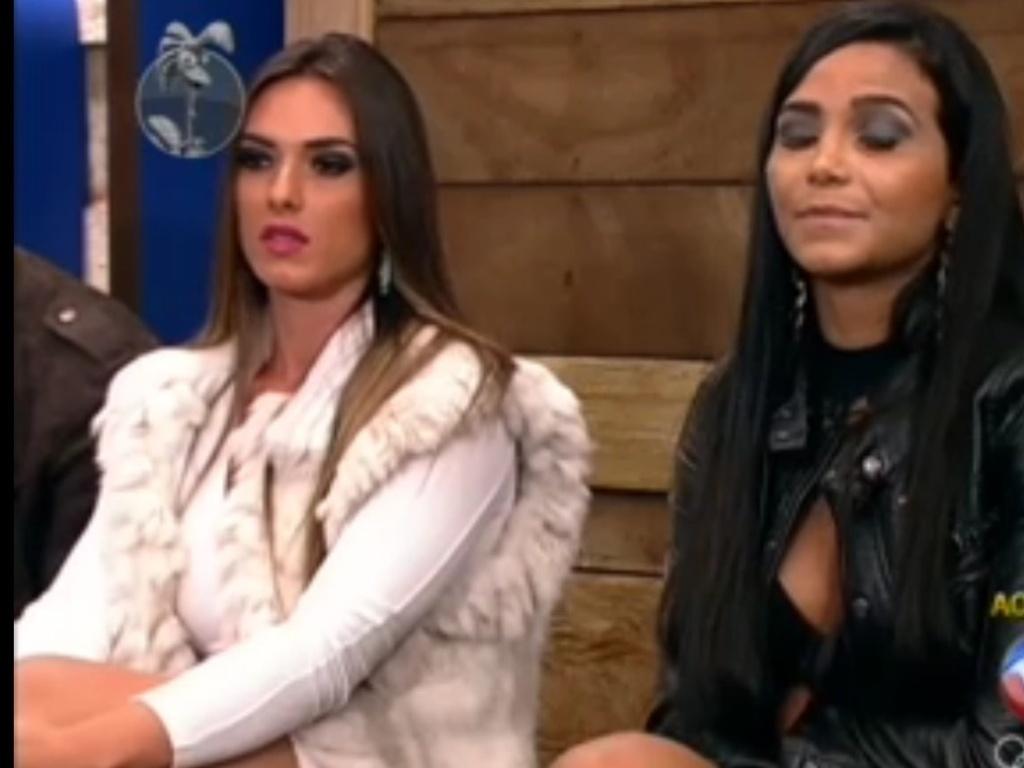 Shayene Cesário ficou surpresa com voto de Nicole Bahls (19/6/12)