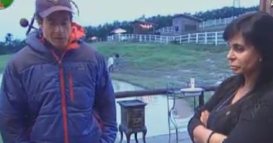 Gretchen conversa com Felipe Folgosi sobre voto em Penélope Nova para a próxima roça (21/6/12)