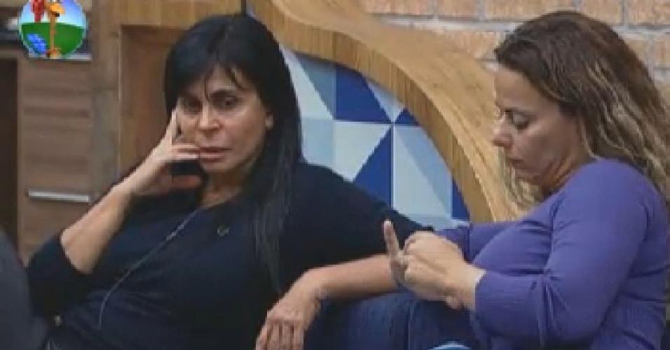 Gretchen e Vivi discutem votos (21/6/12)
