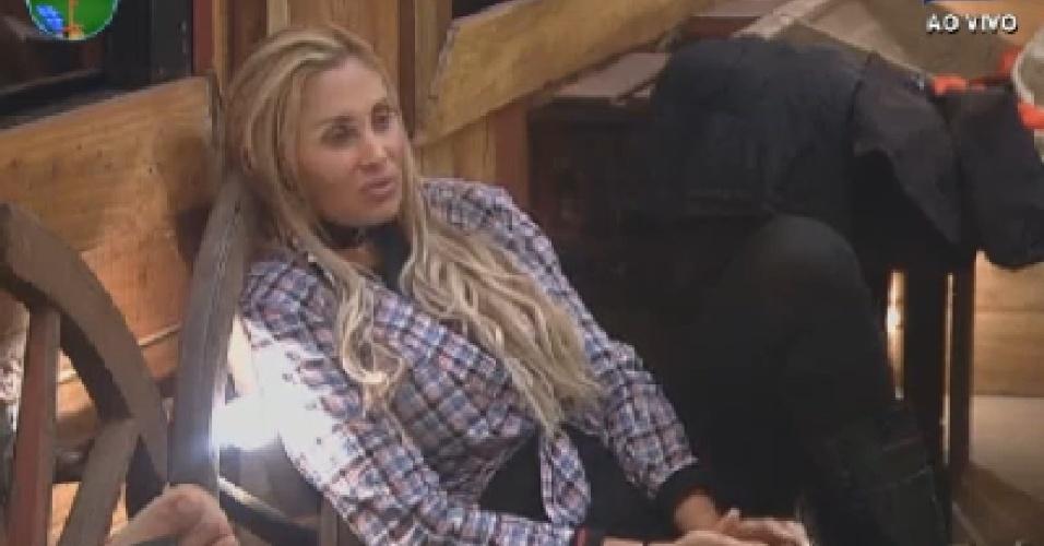 Ângela Bismarchi descansa no celeri antes de votação (26/6/12)