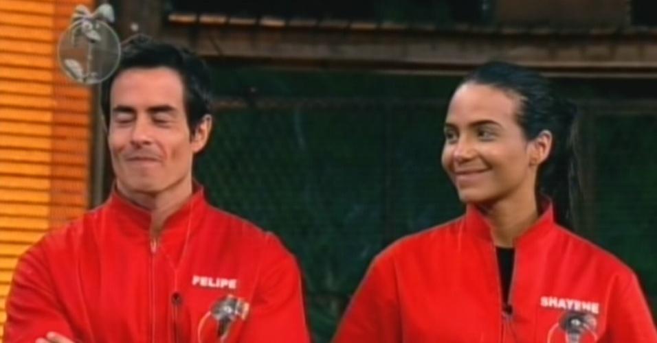 Felipe Folgosi e Shayene Cesário se enfrentam na terceira berlina de