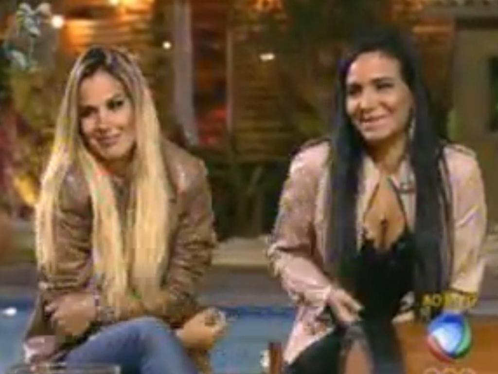 Robertha Portella e Shayene Cesário estão na roça (26/6/12)