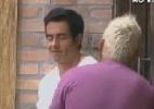 """Na roça, Felipe Folgosi acha que tem vantagem sobre Shayene Cesário porque ela """"causou mais"""" - Reprodução/Record"""