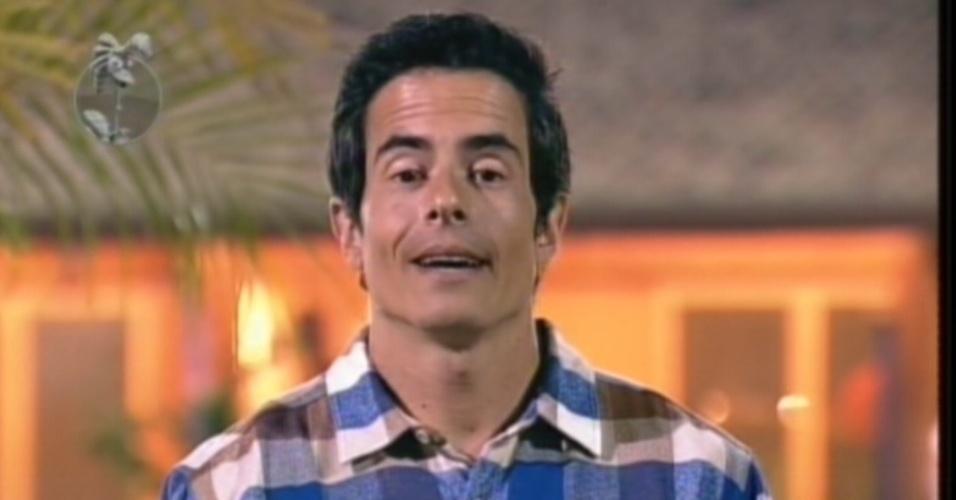 Felipe Folgosi defende sua permanência na quarta roça de