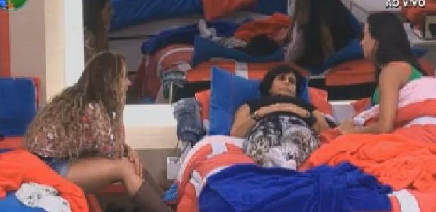 Viviane Araújo, Gretchen e Shayene Cesário falam de Simone Sampaio (27/6/12)