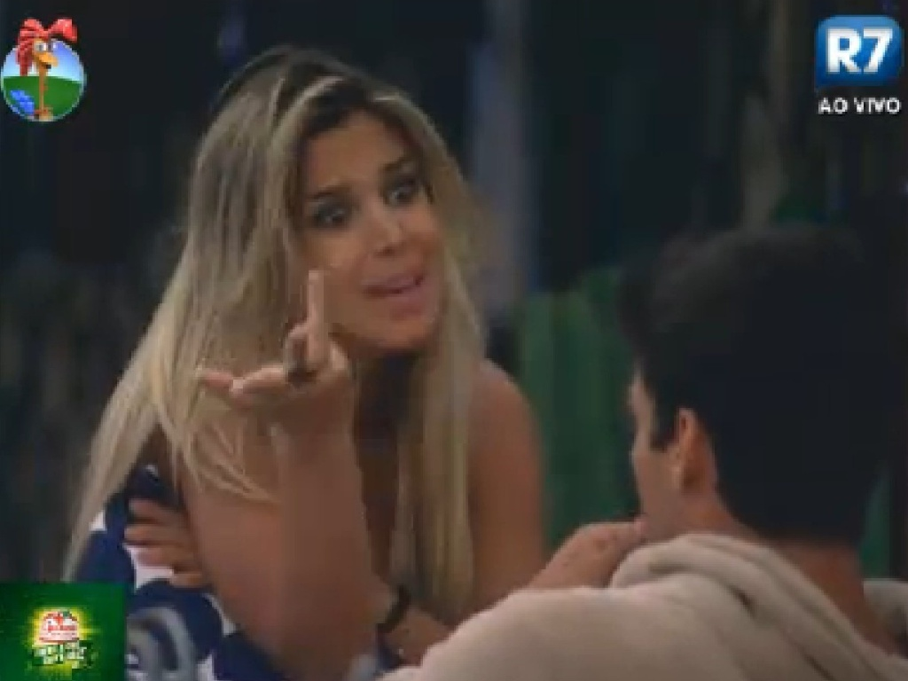 Robertha Portella explica para Diego porque não confrontou Gretchen (30/6/12)