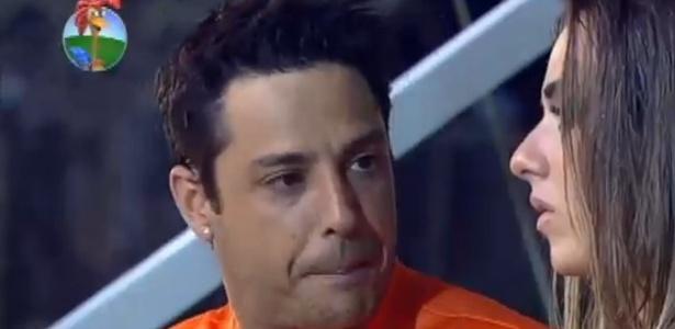 Vavá diz para Nicole Bahls que tem mais carisma que Felipe Folgosi (30/6/12)