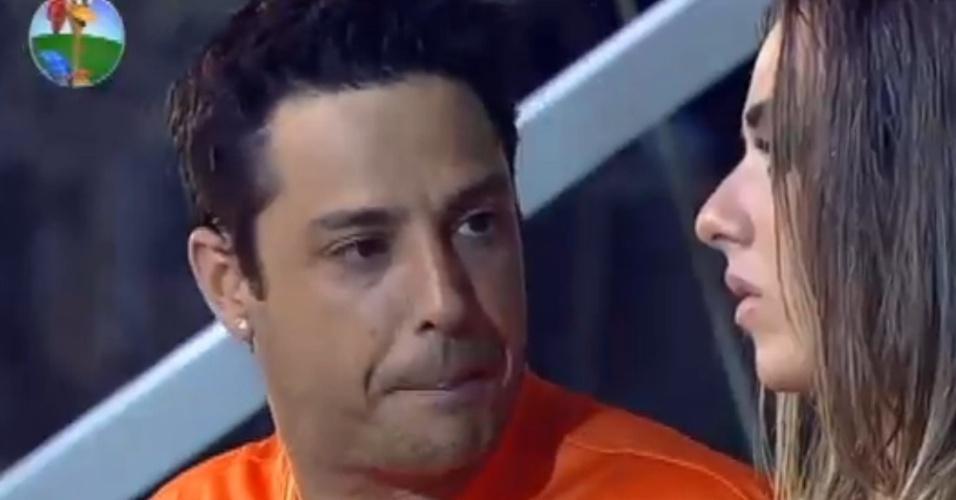 Vavá diz Nicole Bahls que tem mais carismo que Felipe Folgosi (30/6/12)