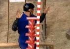 Vitória de Rodrigo Capella em prova da chave é contestada por internautas - Reprodução/ Record