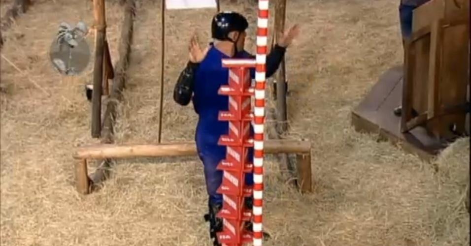 Rodrigo Capella teria se beneficiado do mastro de medição para vencer a prova neste domingo (1º)