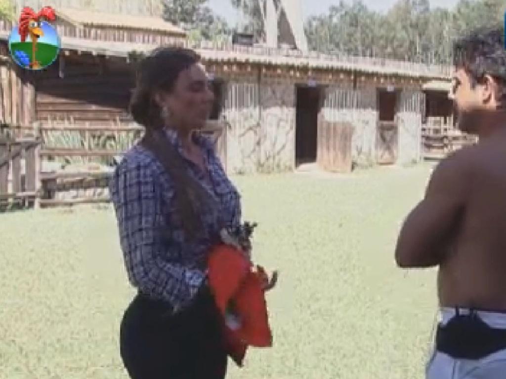 Nicole Bahls conversa com Diego Pombo (3/7/12)