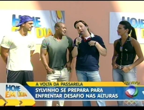Celso Zucatelli conversa com Gustavo, Lui e Shayene (4/7/12)