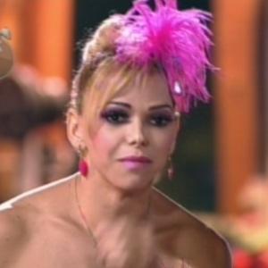 """Léo Áquilla durante formação da quinta roça de """"A Fazenda 5"""" (3/7/12)"""