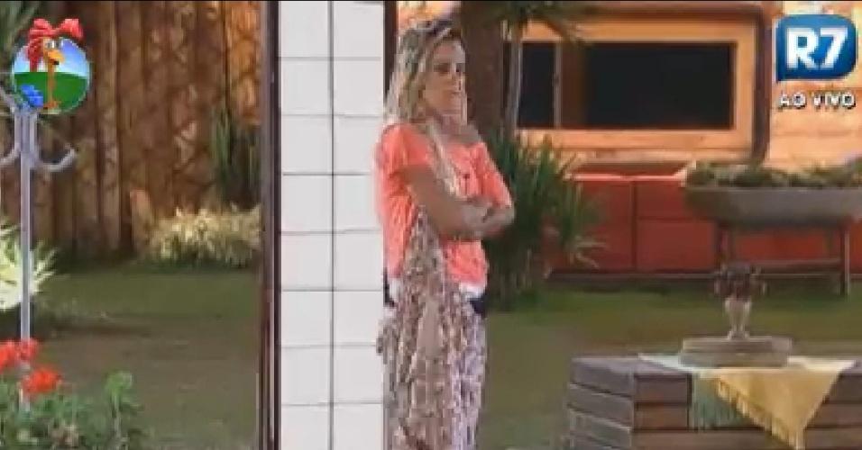Robertha Portella faz imitação de Gretchen (4/7/12)