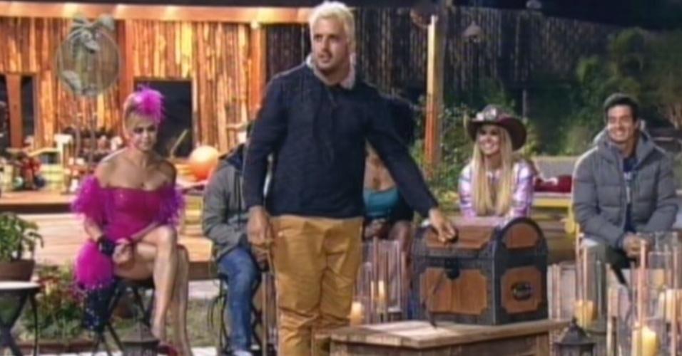 Rodrigo Capella abre a arca e descobre que tem dois poderes da chave nesta terça-feira (3/7/12)