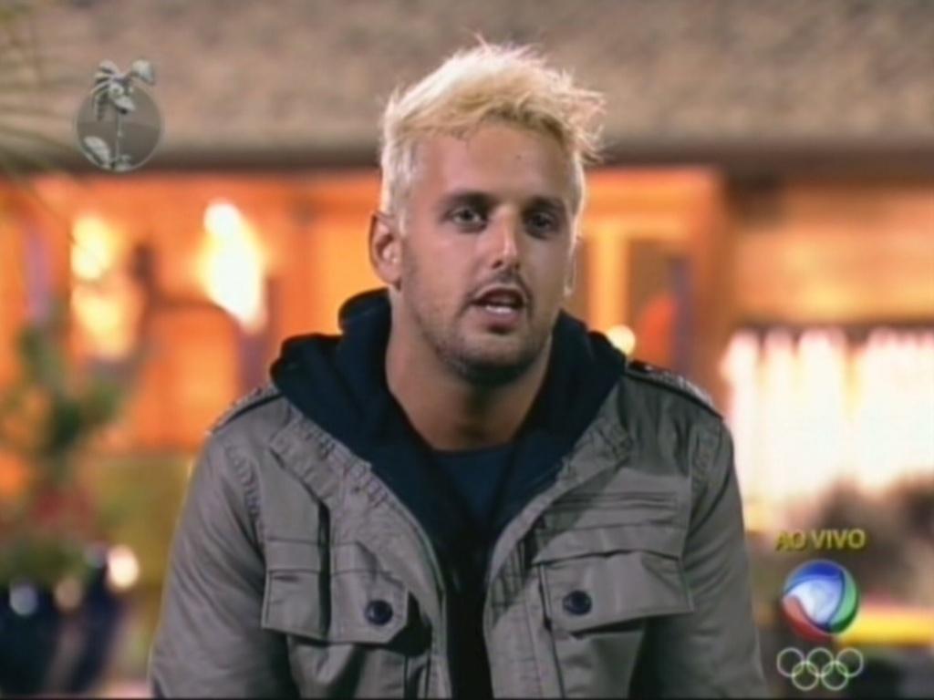 Rodrigo Capella durante a sexta eliminação de
