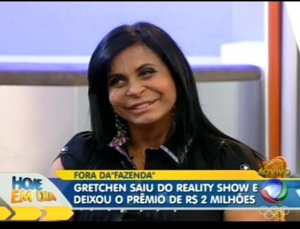 Gretchen fala sobre