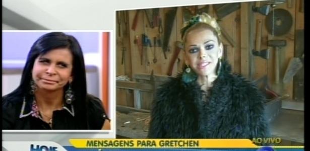 Gretchen ironiza depoimento de Léo Áquilla (9/7/12)