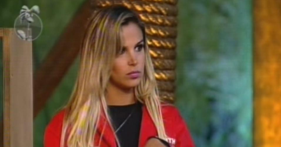 Robertha Portella se prepara para realizar a prova do fazendeiro desta quarta-feira (11/7/12)