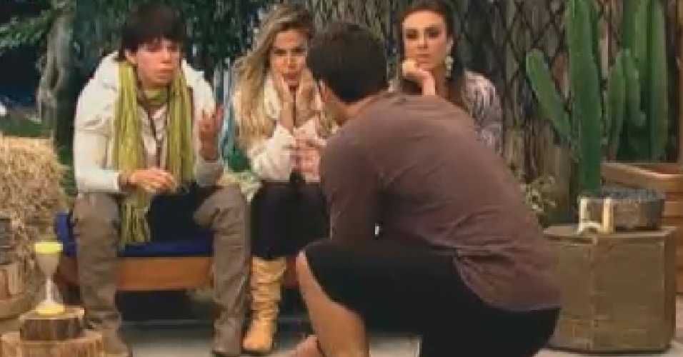 Peoas tentam advinhar mímica de Diego Pombo (17/7/12)