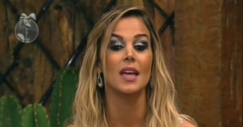 Robetha Portella indica Vavá para a roça por ele criticar sua mania de pedir desculpas (18/7/12)