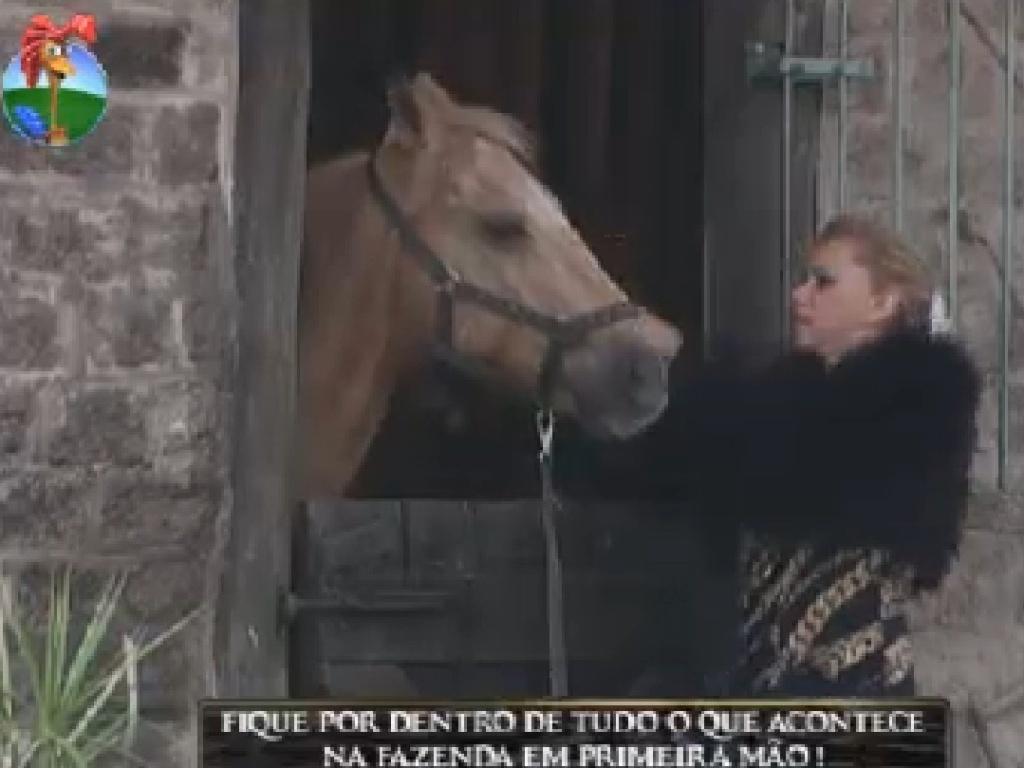 Léo Áquilla tira o cavalo Jano da baia (20/7/12)