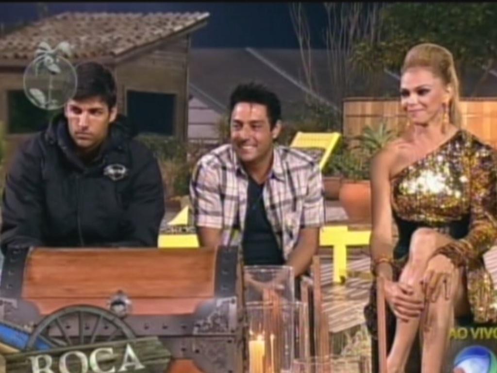 Diego Pombo, Vavá e Léo Áquilla estão na roça desta semana (24/7/12)