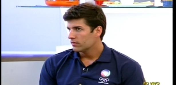 Diego Pombo dá entrevista ao