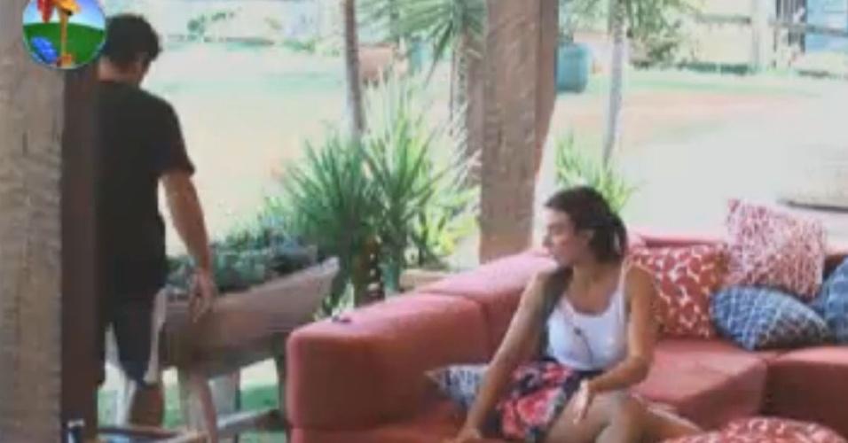 Nicole Bahls desabafa com Vavá (29/7/12)