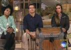 Simone, Felipe e Nicole estão na roça; um deles será o novo fazendeiro - Reprodução/Record