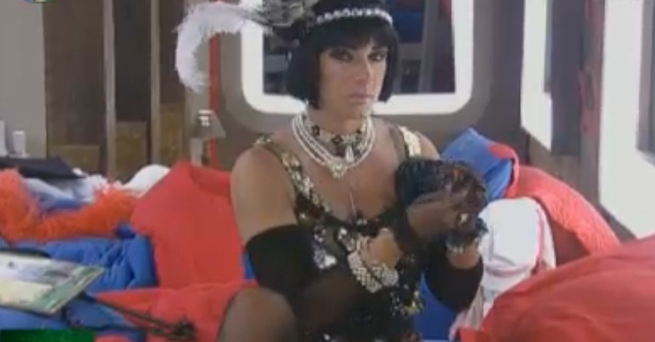 Nicole Bahls se veste como melindrosa para a festa Anos 20 desta sexta-feira (17/8/12)