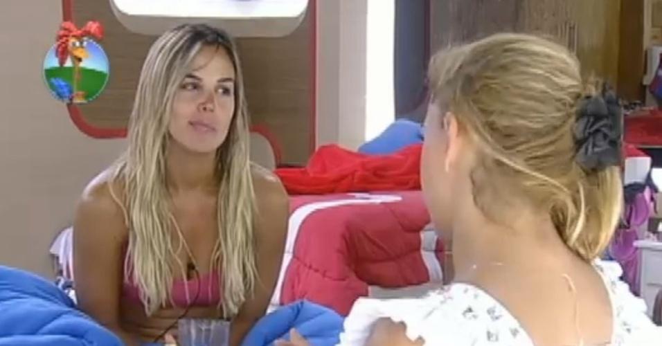Robertha Portella e Léo Áquilla trocam confidências sobre medos pós-reality (17/8/12)