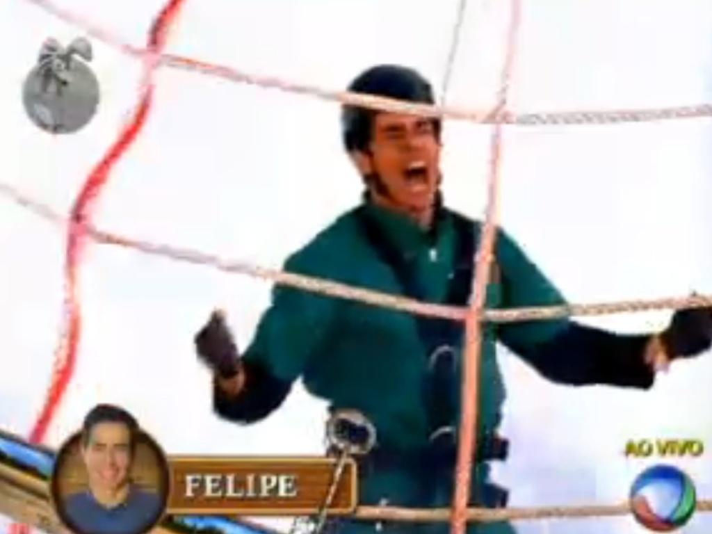 Felipe Folgosi vence a primeira prova da chave do programa (10/6/12)