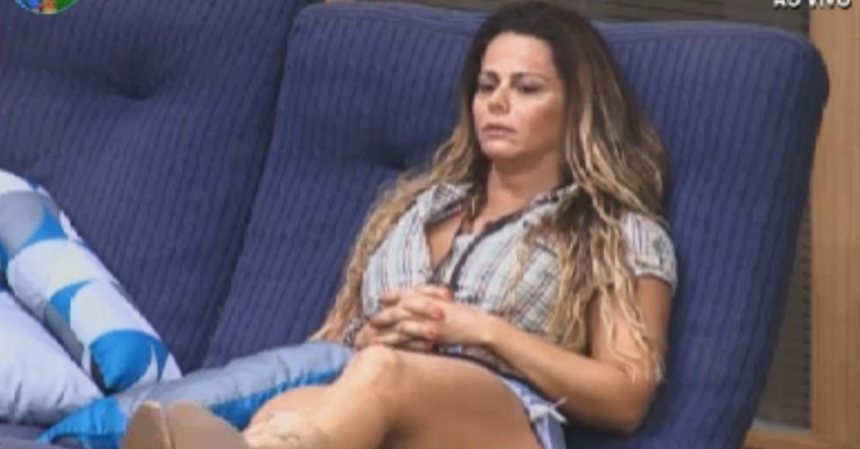 Viviane Araújo ouve Felipe Folgosi desabafar sobre briga com Nicole Bahls (21/8/12)