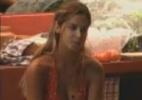 Conformada, Robertha Portella diz acreditar que será eliminada nesta noite - Reprodução/Record