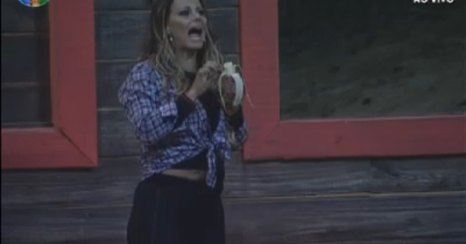Viviane Araújo continua no reality e poderá protagonizar uma