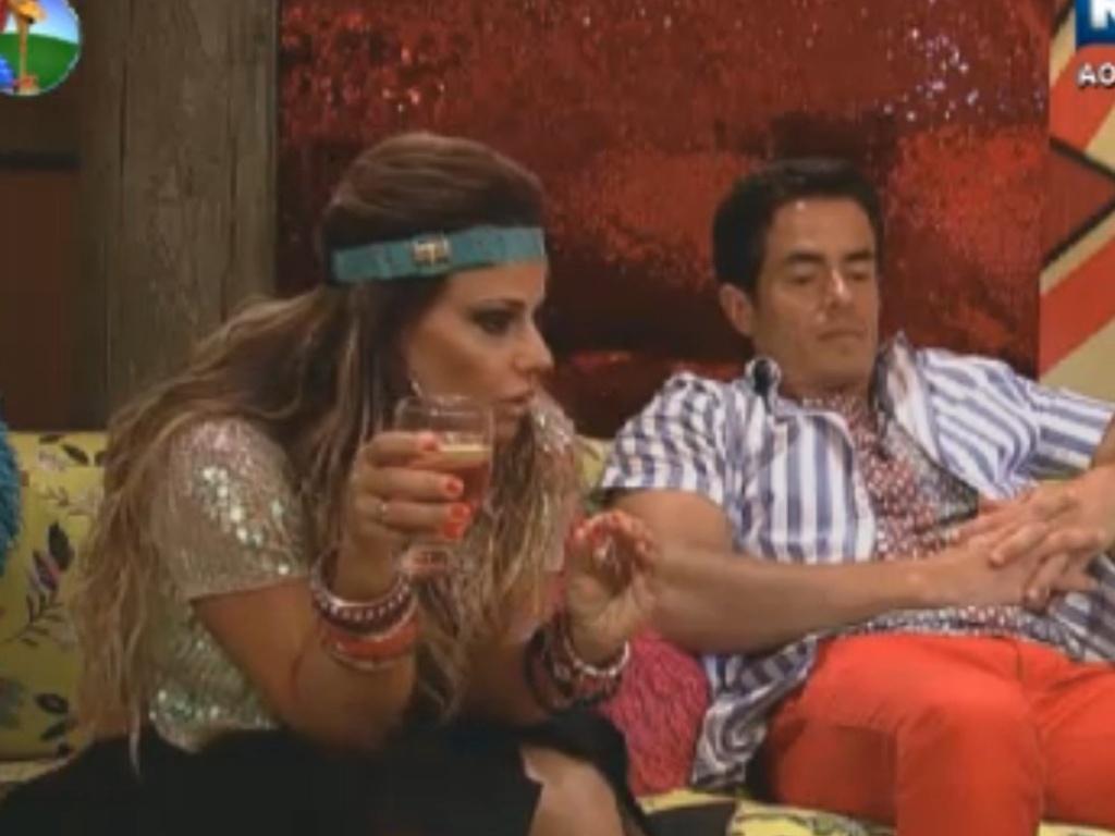 Viviane Araújo conversa com Felipe Folgosi (24/8/12)
