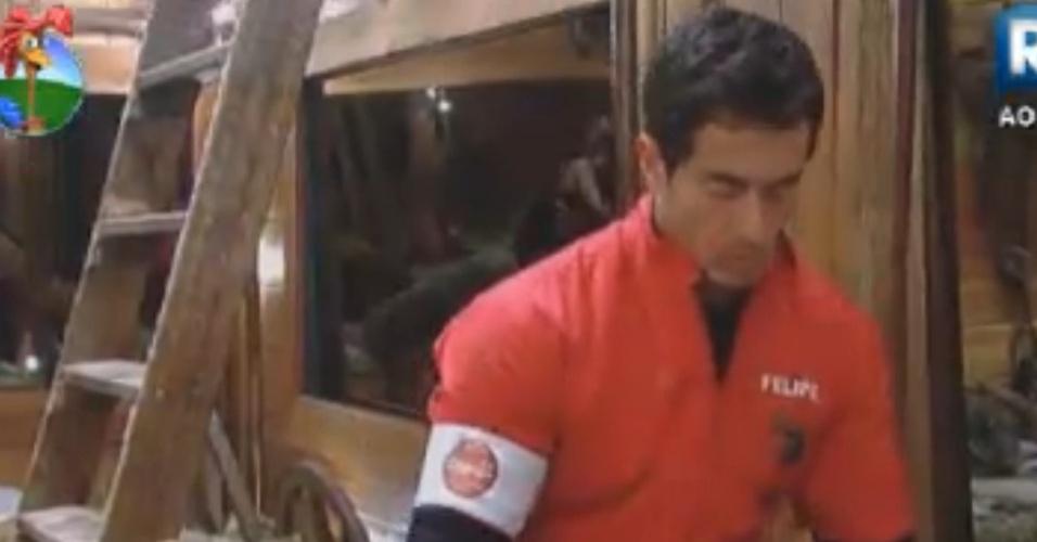 Felipe Folgosi se prepara para a prova que vale uma vaga na fibnal  (25/8/12)