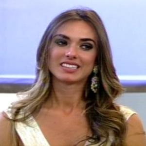 """Nicole bahls participou do programa """"Hoje em Dia"""" nesta segunda-feira (27/8/12)"""
