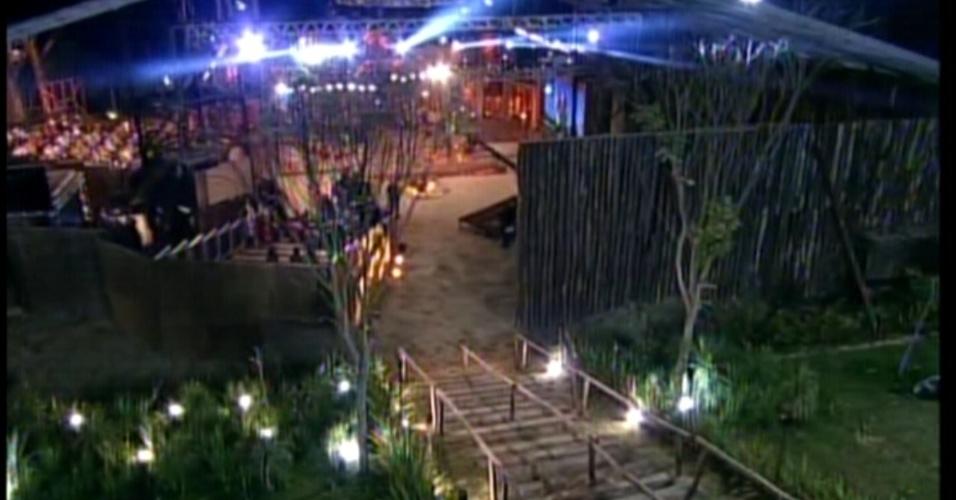 A emissora preparou um cenário especial na noite desta quarta-feira (29/8/12)