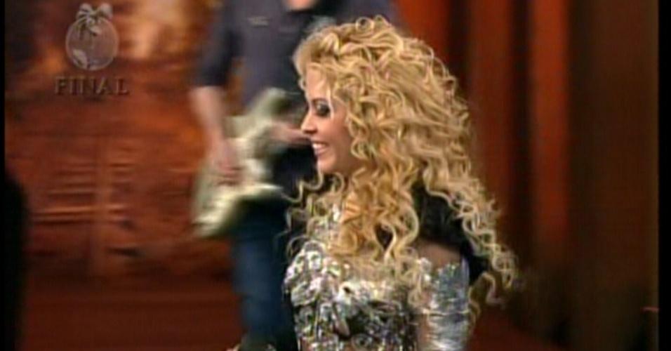 """Banda Calypso foi a atração chamada para animar a final de """"A Fazenda 5"""" (29/8/12)"""