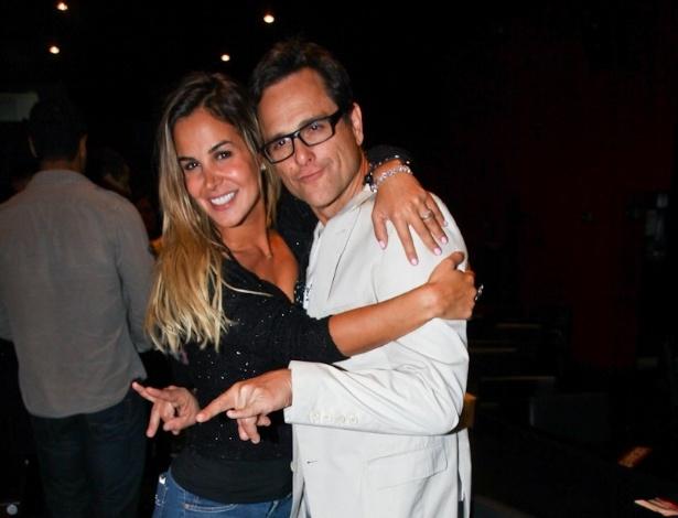 Robertha Portella e Sylvinho Blau Blau também estiveram presentes no espetáculo de Capella (29/8/12)