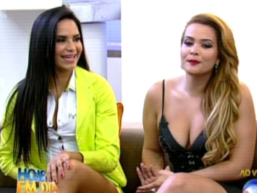 Shayene Cesário e Geisy Arruda comentam sobre os selecionados para a
