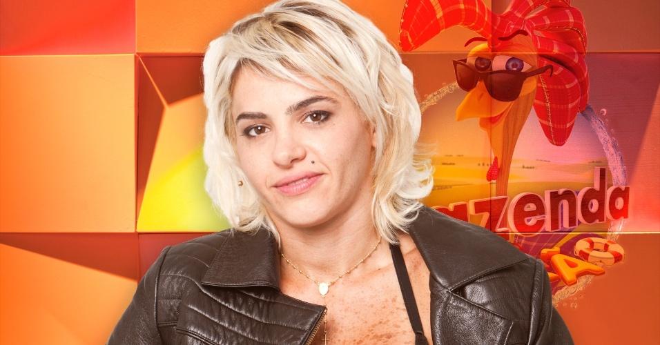 A DJ carioca Cacá Werneck,.nova participante do reality show