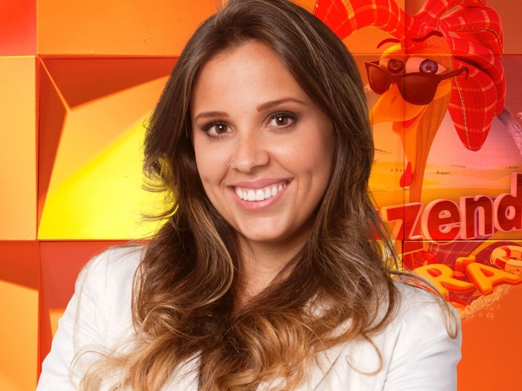 A mineira Angelis Borges, nova integrante do reality show
