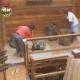 Participantes no Celeiro se preparam para dormir - Reprodução/Record