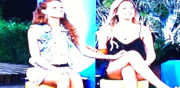 """Numa votação que lembrou """"No Limite"""", Claudia e Bianca foram eleitas para disputar a primeira roça"""